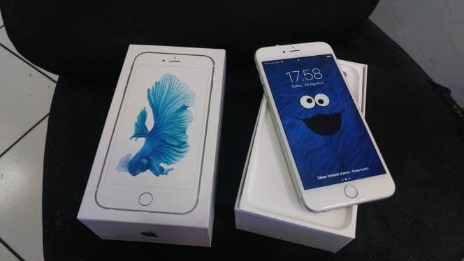 Jual Iphone 6s Plus Silver 128gb Triple Six Phoneshop Tokopedia