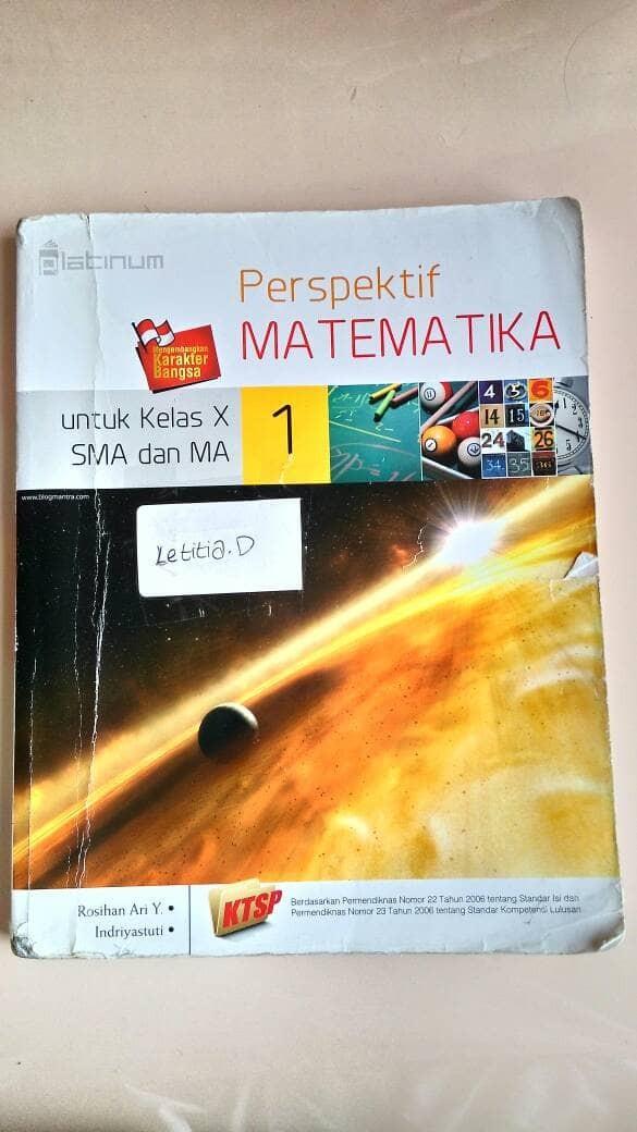 Foto Produk buku matematika SMA kelas 10 dari Girls_Thing