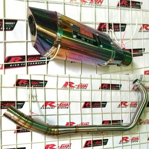 harga Knalpot racing suzuki gsx 150r r150 satria 150 f yoshimura r11 rainbow Tokopedia.com