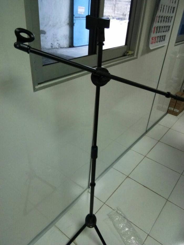 harga Stand mic panjang double holder full besi seac Tokopedia.com
