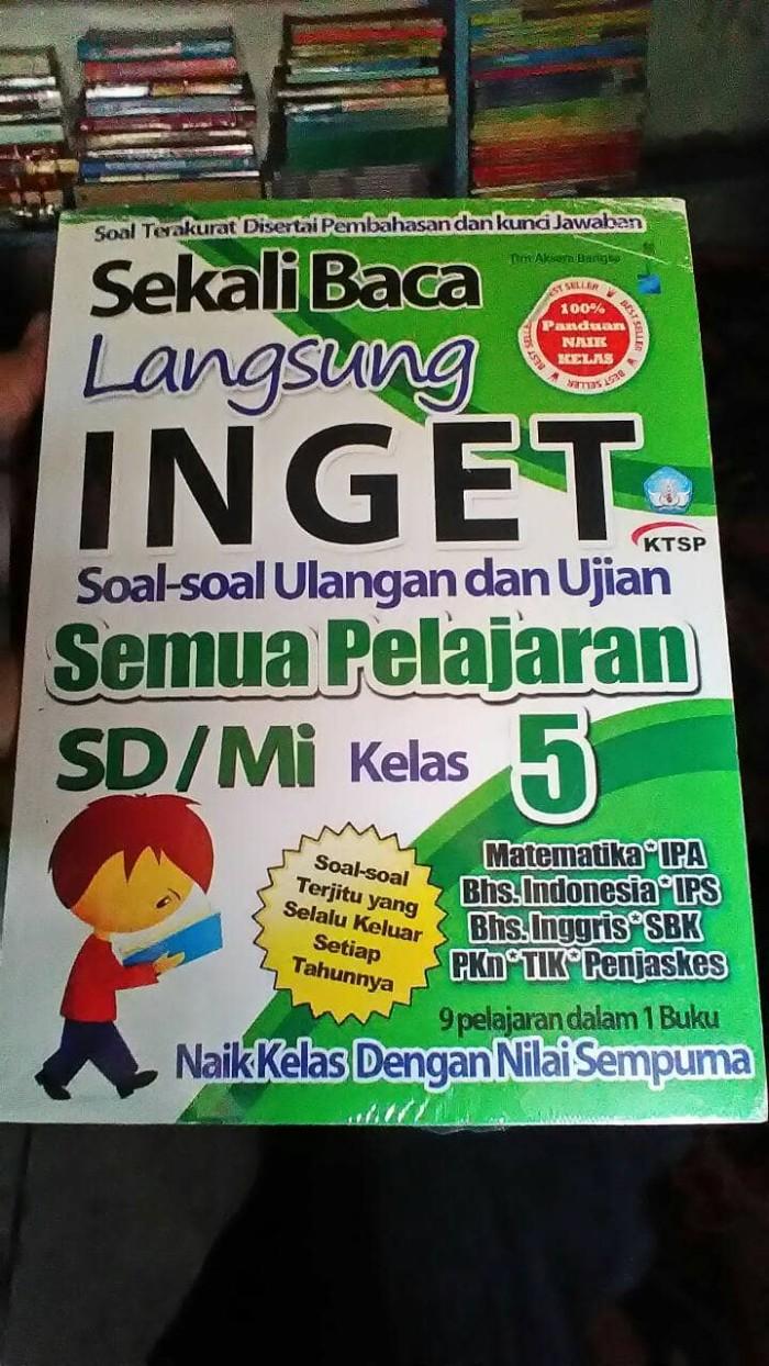 Jual Kumpulan Soal Semua Mata Pelajaran Kelas 5 SD MI Kota Surakarta TBnar Jaya