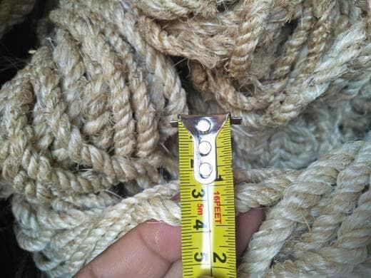 harga Tali rami 0.7 cm tali dari bahan alami untuk kerajinan mainan kucing Tokopedia.com