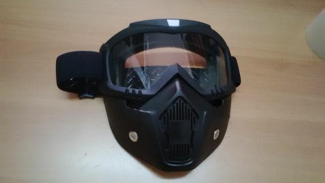 harga Kacamata helm bogo goglemask gogglemask kaca bening frame hitam polos  Tokopedia.com c1b4c24f51