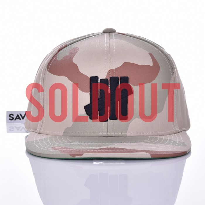 harga X sold out x - undefeated snapback 5 strike camo  - ( saveur.id ) Tokopedia.com