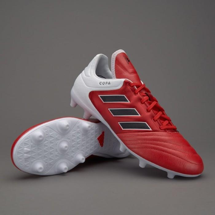 Jual Sepatu Bola Adidas Copa 17.3 FG Red Core Black White Ori ... dc113428c0