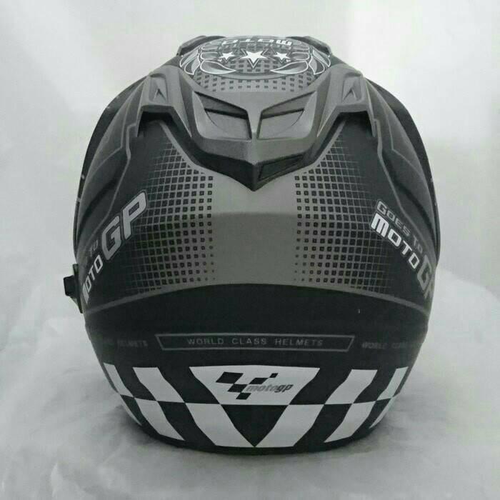 helm double visor dmn sni doff