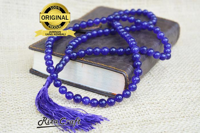 harga Tasbih batu akik kecubung ungu asli kalimantan alam natural original Tokopedia.com