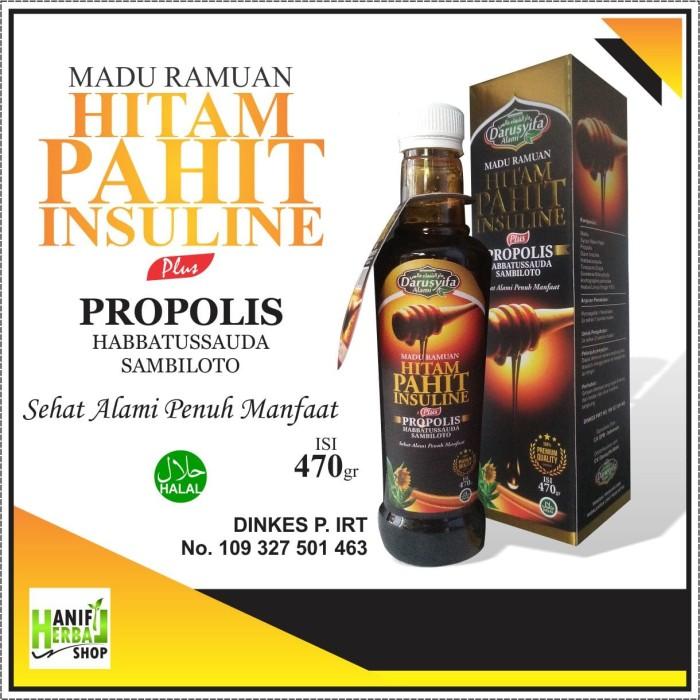 harga Madu Ramuan Hitam Pahit Insuline Plus Propolis Tokopedia.com