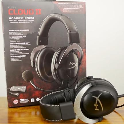 harga Kingston hyperx cloud ii - gaming headset (gunmetal) - garansi resmi 2 Tokopedia.com