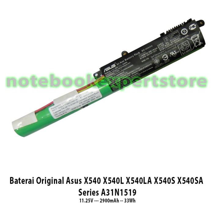 harga Baterai original asus x540 x540l x540la x540s x540sa series a31n1519 Tokopedia.com