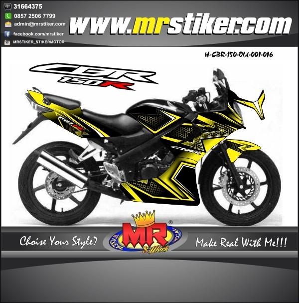 Jual Striping Motor Decal Cbr 150 Old Desain Keren Dan Elegant Kab Klaten Mr Stiker Tokopedia