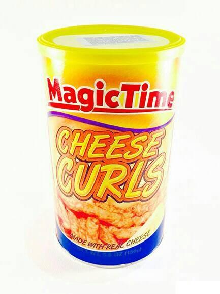 Magic time cheese curls snack snek keju makanan ringan import usa