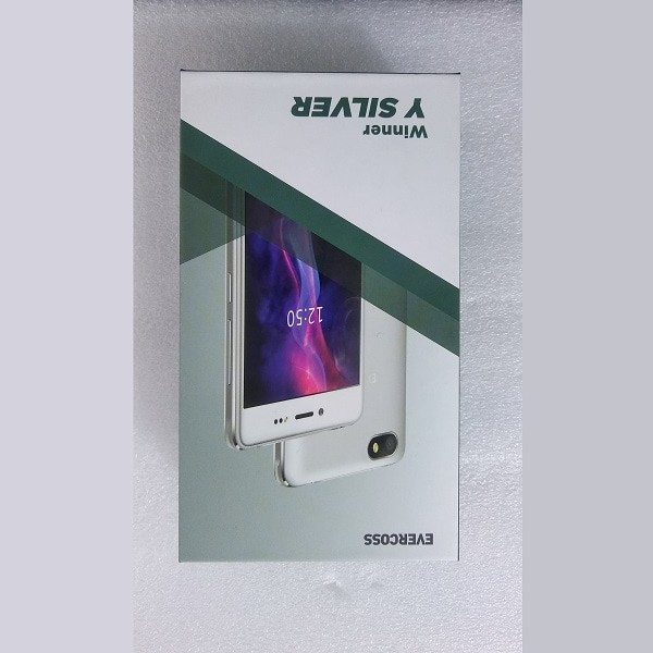 Smartphone evercoss a75 max winner silver 3g marshmallow lcd 5inch qua