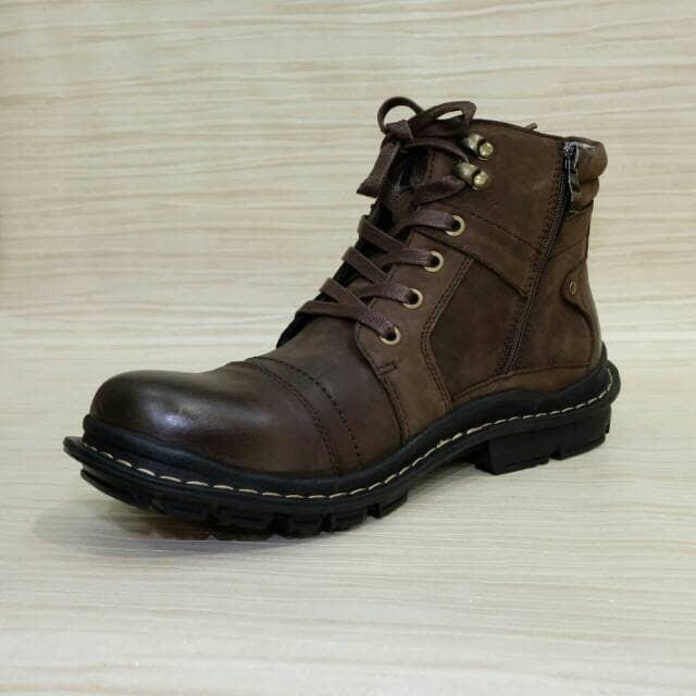 Jual Sepatu Boot Casual Formal Pria Merk Jim Joker Original Jeruk