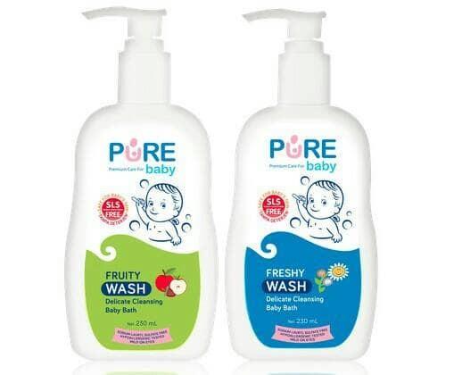 harga Pure baby wash 2in1 (230ml) sabun mandi bayi aman untuk kulit sensitif Tokopedia.com