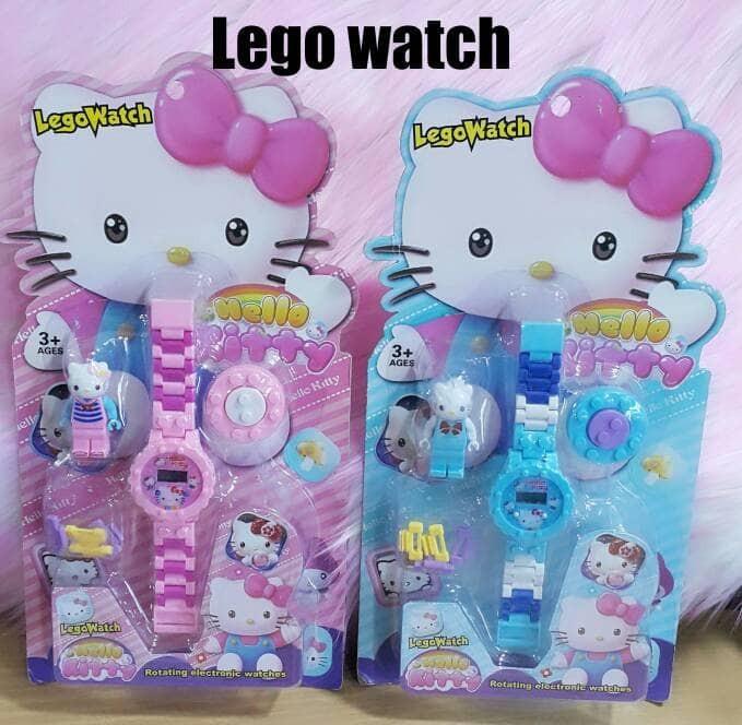 harga Jam tangan anak perempuan lego watch hello kitty Tokopedia.com