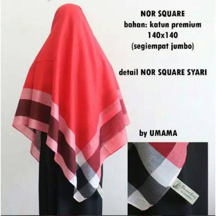 harga Hijab kerudung jilbab segi empat katun jumbo / syar'i terbaru terlaris Tokopedia.com