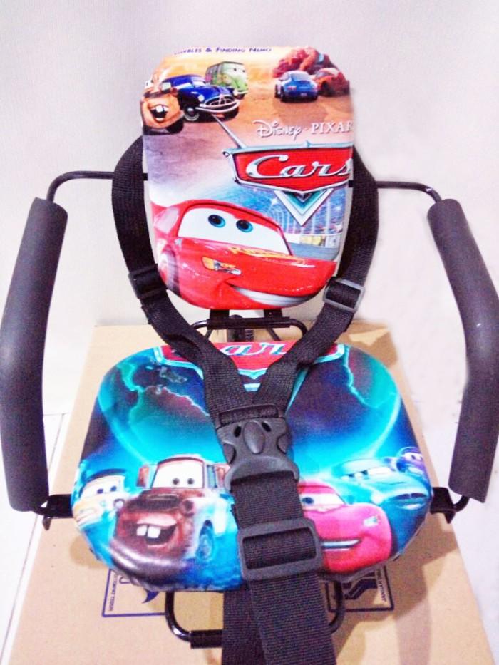 harga Aksesoris tempat duduk bayi di depan motor matik portable Tokopedia.com