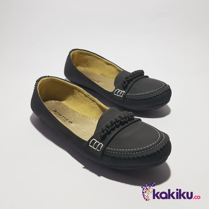Sepatu flat shoes / flatshoes wanita gratica ap58 black / beauty shoes