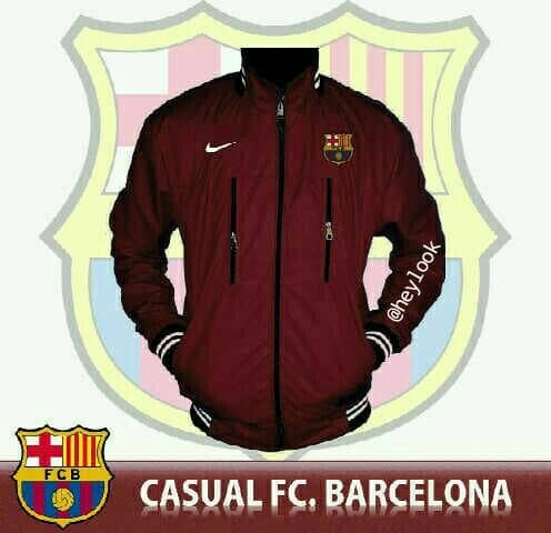 harga Limited Edition Jaket Jersey Barcelona Fc Parka Pria Bomber Original Tokopedia.com