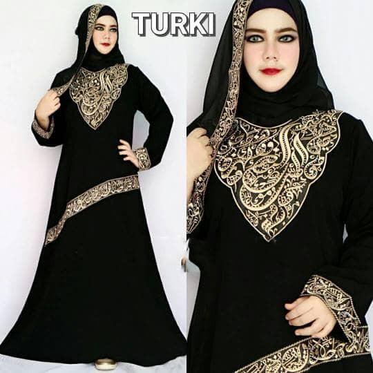 Jual Abaya Turki Gamis Arab Busana Muslim Abaya Saudi Jubah Safah Collection Tokopedia