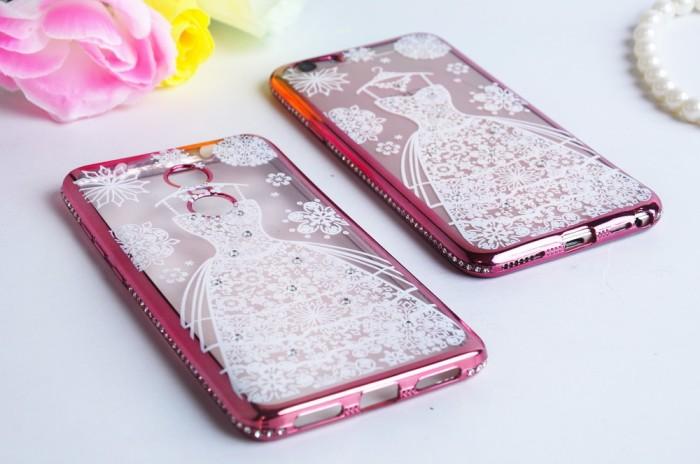 harga Luxury diamond case motif wedding dress xiaomi redmi 5a Tokopedia.com