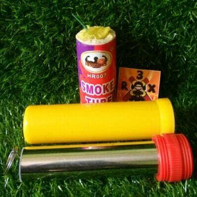 Jual PAKET HEMAT RED FLARE DNS POLOS + SMOKE BOMB - Jakarta Barat - R 3 X |  Tokopedia
