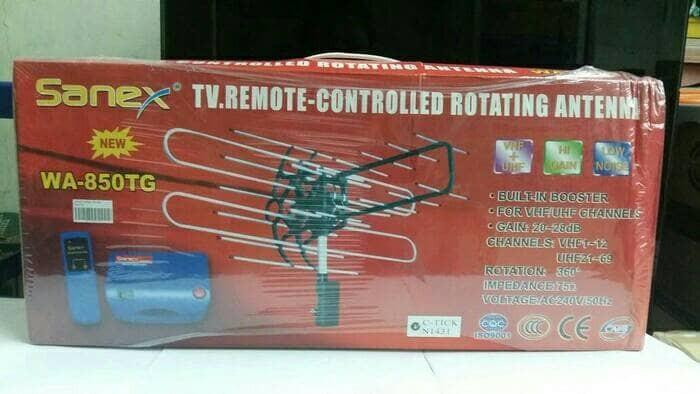 harga Antena tv televisi luar remote control sanex wa-850tg kualitas ok Tokopedia.com
