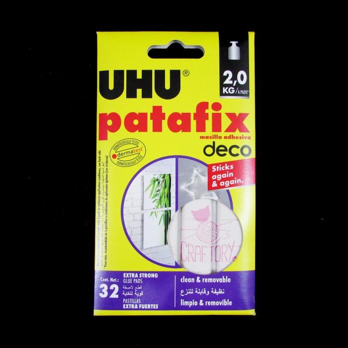 harga Uhu patafix 32 glue pads / white tack it / glue pads / lem dekorasi Tokopedia.com