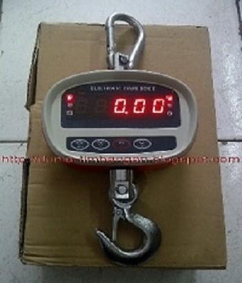 harga Timbangan gantung digital 150 kg atau 300 kg power batre a2 Tokopedia.com