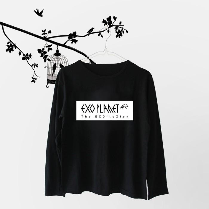 harga Baju / Kaos / Tshirt Exo Planet (lengan Panjang) - Exo Stuff Exo Merch Tokopedia.com