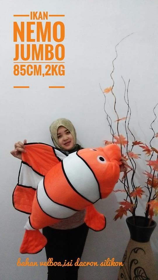 Foto Produk Boneka Nemo Jumbo dari NN BONEKAKU