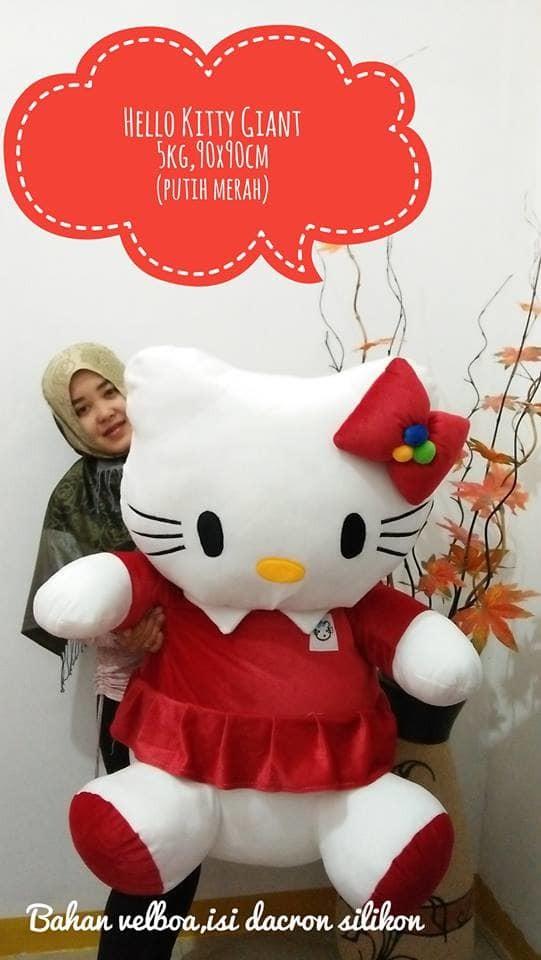Foto Produk Boneka Hello Kitty Giant / Boneka Hello Kitty super jumbo dari NN BONEKAKU