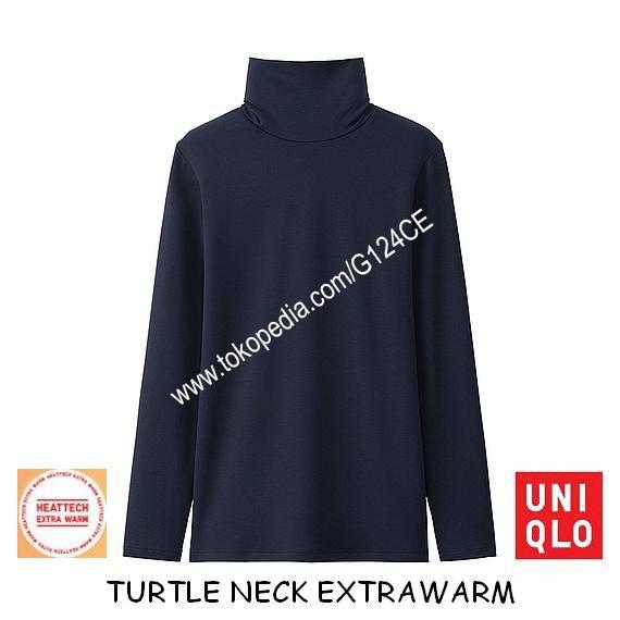 harga Longjohn uniqlo wanita heattech extra warm turtle 400258 172183 navy Tokopedia.com