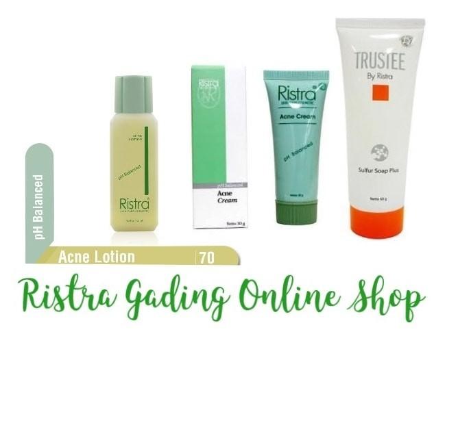 Ristra Acne Lotion, Acne Cream, Trustee Sulfur Soap Plus