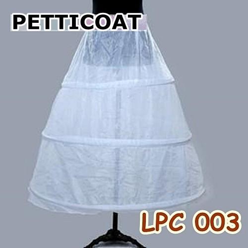 harga Petticoat bridal panjang rok mengembang dalaman gaun pengantin 3 susun Tokopedia.com