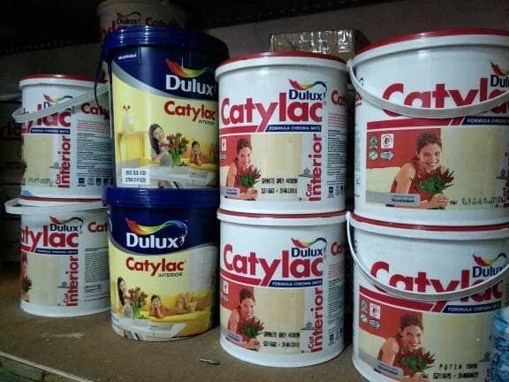 harga Cat tembok catylac 5kg (tersedia warna) Tokopedia.com