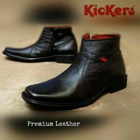 harga Sepatu kickers pantofel kantor /sepatu kerja kulit asli Tokopedia.com
