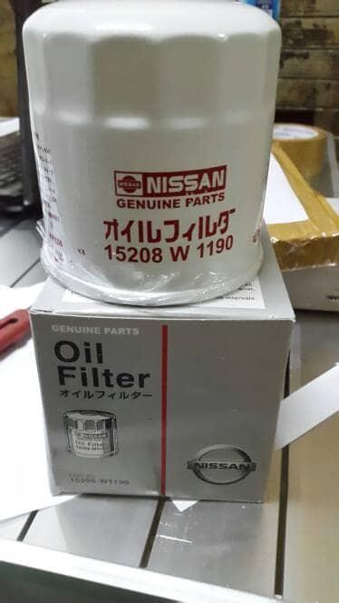 harga Filter oli nissan livina/xtrail/march/datsun go/evalia/teana/serena Tokopedia.com
