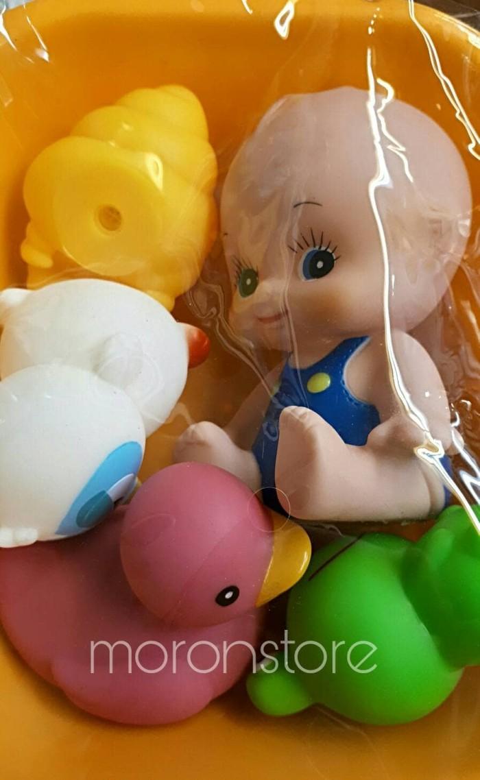 Jual Boneka Bayi Baby Doll Isi 5 Pcs Lengkap Dengan Bak Mandi Lucu Anak Dan Imut
