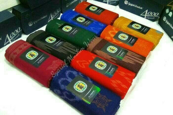 Foto Produk SARUNG GAJAH DUDUK - SPESIAL 4000 KEMBANG dari Ad-Dailami Berkah