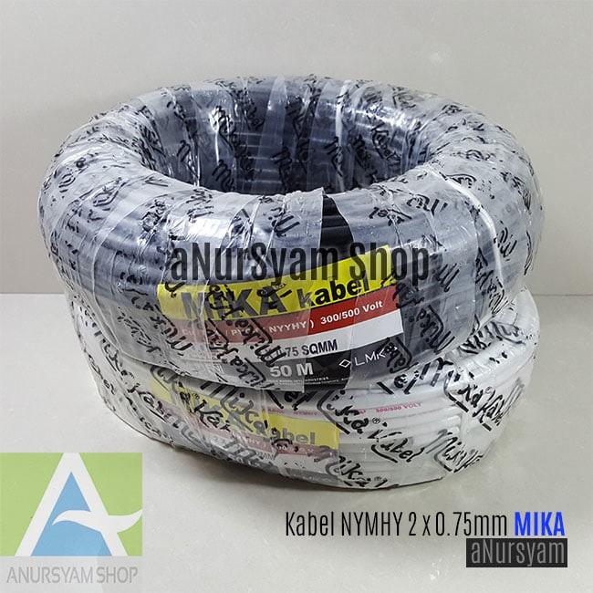 harga Kabel listrik nymhy mika 2x0.75mm 1 roll 50 meter Tokopedia.com