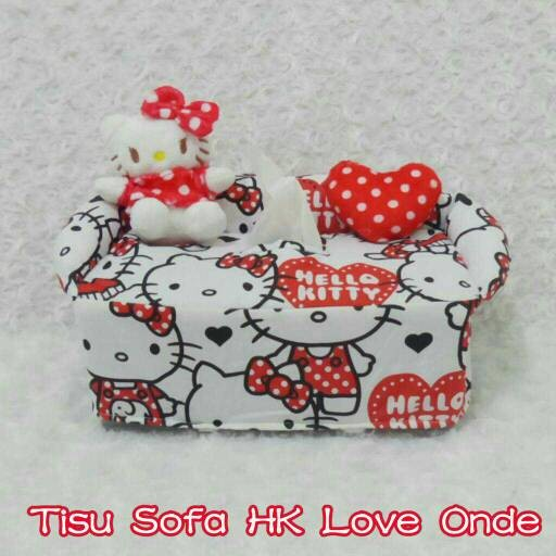 harga Tempat cover wadah box tissue tisu tissu tisue boneka hello kitty love Tokopedia.com