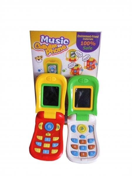 Jual Mainan Anak Bayi Phone Hp Telepon Handphone Mainan Bunyi Musik