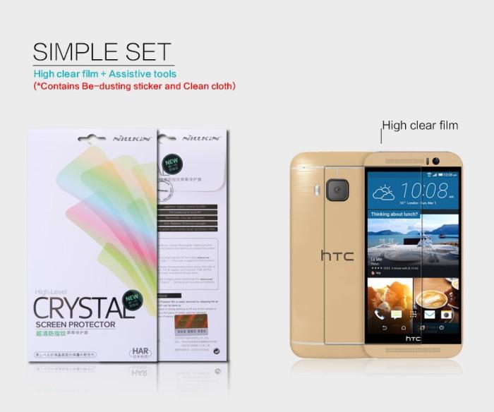 Foto Produk HTC One M9 - Nillkin Clear Screen Guard dari Bungkusgan