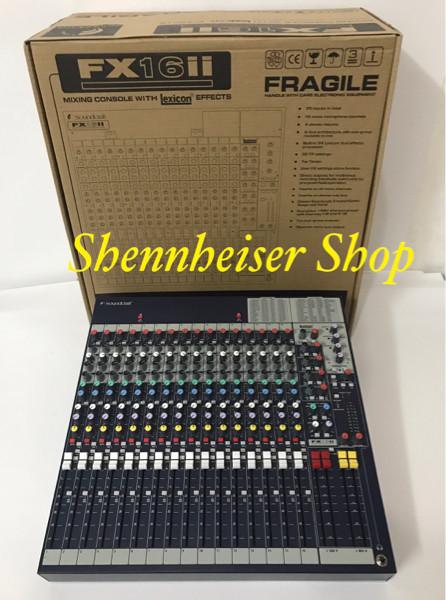 harga Mixer soundcraft fx 16ii / soundcraft fx 16 ii Tokopedia.com