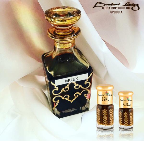 harga 12ml black musk oriental parfume oil (parfum arab minyak misik hitam) Tokopedia.com