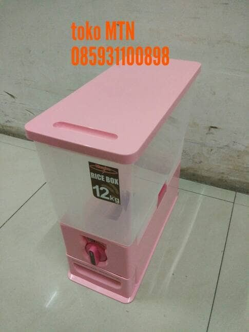 Maspion MRD 12 Rice Box / Tempat Beras 12kg .