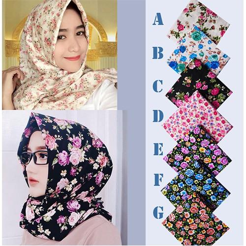 Jual Kerudung Jilbab Murah Terbaru Segiempat Shabby Chic 001 Kota Bogor Roan Store Tokopedia