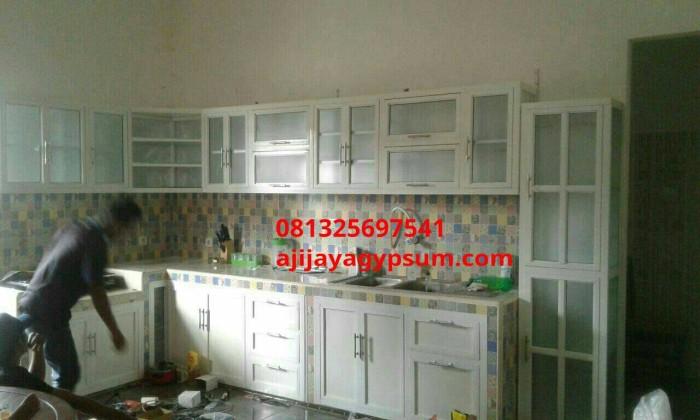 Jual Kitchen Set Aluminium Kota Semarang Aji Jaya Gypsum Tokopedia